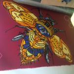 Better Food Company Bee mural