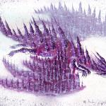 purple dragon paper